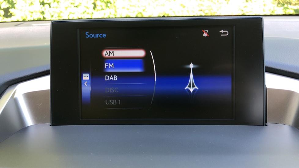 Lexus NX 300h 2.5 Luxury 5dr CVT Auto, Hybrid, F & R Sensors, Rr. Camera, Adaptive Cruise, DAB image 8