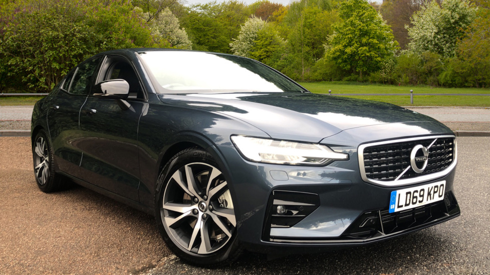 Volvo S60 2.0 T5 R Design Plus Nav Auto with Winter Pk, Head Up Display, Keyless Drive, Heated Steering Wheel Automatic 4 door Saloon (2020) image