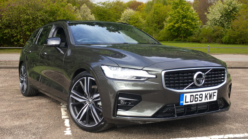 Volvo V60 D4 R Design Pro Nav AT, Xenium/Convenience Pks, H/Kardon, S/Phone, BLIS & 20 Inch Wheels 2.0 Diesel Automatic 5 door Estate (2020)