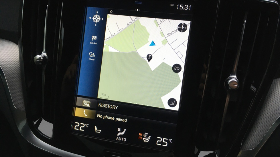 Volvo V60 2.0 D3 R Design Pro Nav Manual with Xenium Pk, BLIS, Heads Up, Auto Dimming Int & Ext mirrors image 7