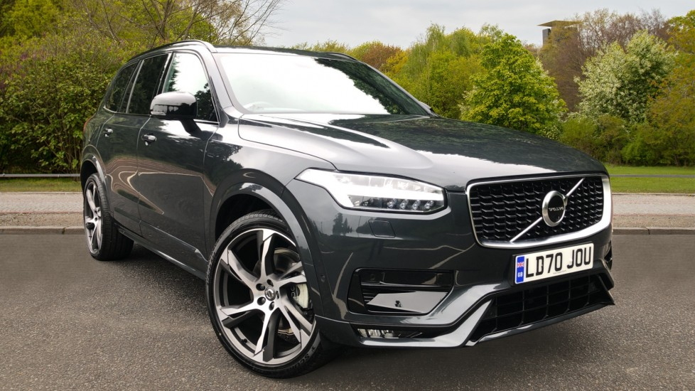 Volvo XC90 B6P Mild Hybrid R Design Pro AWD Auto, Xenium, 7 Seat Comfort & Family Packs, BLIS, 22in Alloys 2.0 Petrol/Electric Automatic 5 door 4x4 (2020) image
