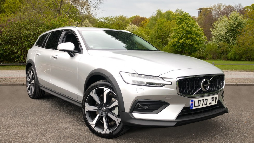 Volvo V60 T5 Cross Country Plus AWD Auto, Xenium & Winter Packs, Intellisafe Pro, Sunroof, 360 Camera, Tints 2.0 Automatic 5 door 4x4 (2020)