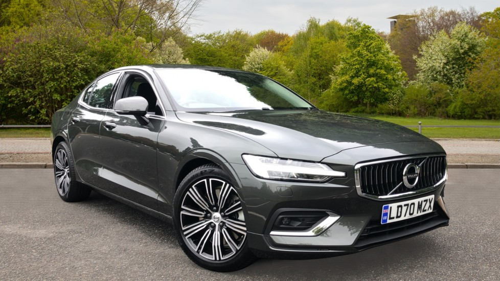 Volvo S60 T5 Inscription Plus Auto, Nav, Winter Pack, Harman Kardon, Smartphone Integration, Heated Screen 2.0 Automatic 4 door Saloon (2020)