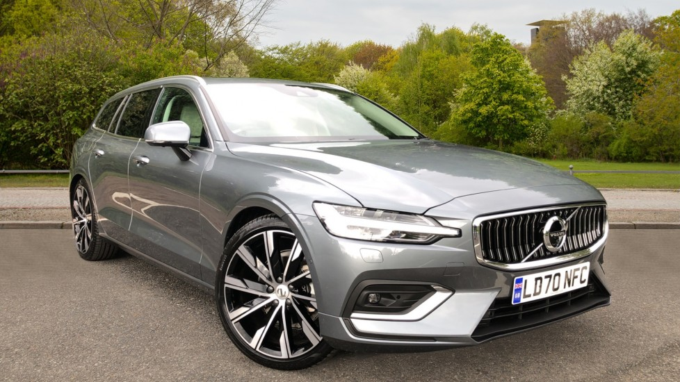Volvo V60 D4 Inscription Plus Auto, Nav, Winter & Xenium Packs, Sunroof, 360 Camera, 20in Alloys, Tints, BLIS 2.0 Diesel Automatic 5 door Estate (2020)