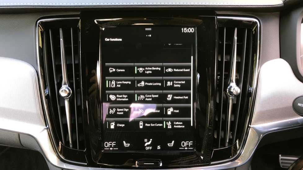 Volvo S90 T8 Recharge PHEV R Design AWD Auto, Climate Pack, Nav, Heated Screen, Rear Camera, Keyless Drive image 28