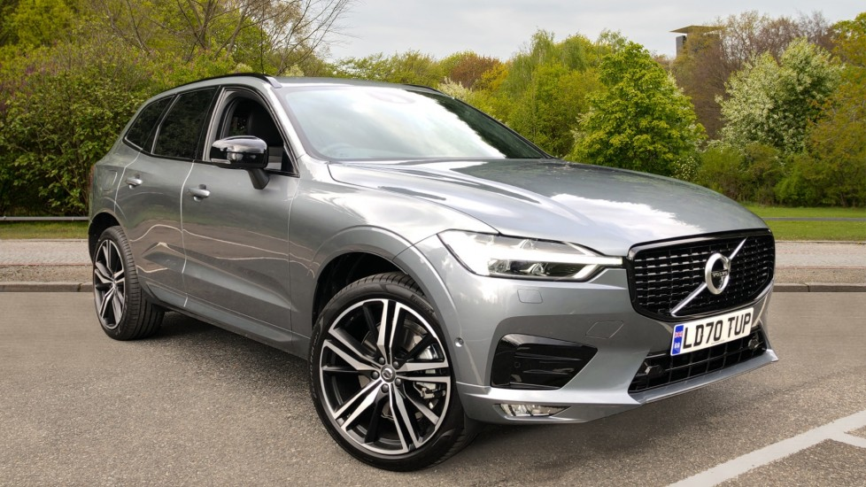 Volvo XC60 B4D Mild Hybrid R Design Pro AWD Auto, Nav, Lounge, Climate & Driver Assist Packs, Sunroof, BLIS 2.0 Diesel/Electric Automatic 5 door 4x4 (2020) at Volvo Horsham thumbnail image
