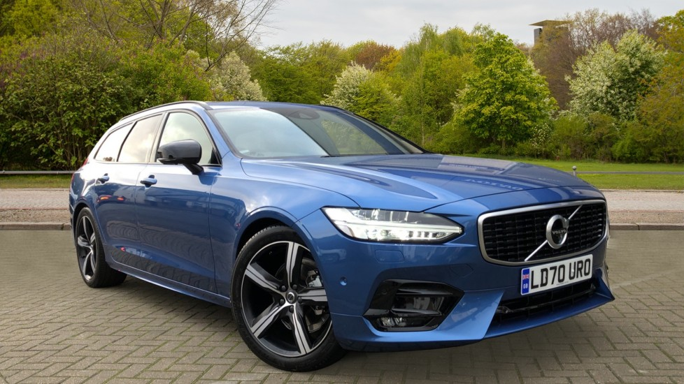 Volvo V90 T4 R Design Plus Auto, Nav, Xenium & Winter Packs, Sunroof, 360 Camera, Heated Screen, BLIS 2.0 Automatic 5 door Estate (2021)