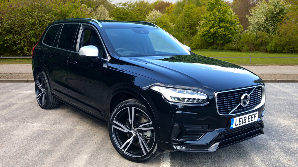 Volvo XC90 2.0 D5 Powerpulse AWD R DESIGN Pro Nav Auto with Xenium, Family Pk, Bowers & Wilkins & BLiS Diesel Automatic 5 door Estate (2019) image