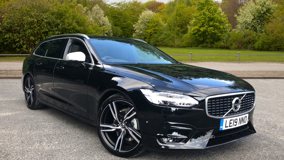 Volvo V90 2.0 D4 190hp Euro 6 R Design Pro Nav Auto with Xenium Pk, Harman Kardon, S/Phone, BLIS & Seat Pk. Diesel Automatic 5 door Estate (2020) image