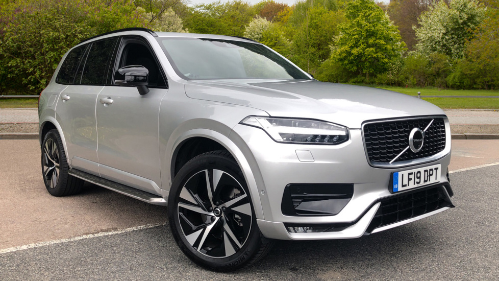 Volvo XC90 2.0 B5 Mild Hybrid R Design AWD Auto, Xenium, Winter & Family Packs, HK Audio, Towbar & BLIS Diesel Automatic 5 door 4x4 (2020) image