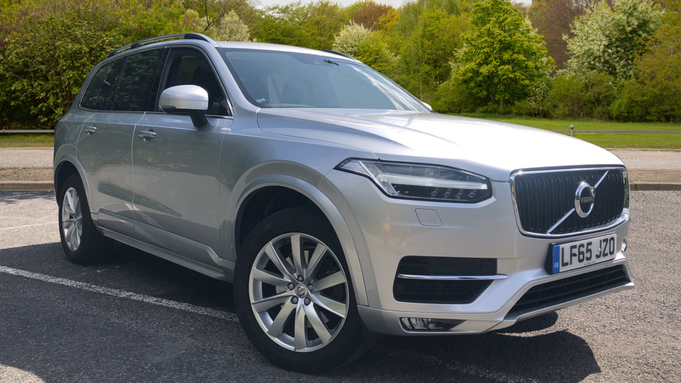 Volvo XC90 D5 Momentum AWD Auto with Winter Pk, Intellisafe Pro, Family Pk, Pan Roof & Tempa Wheel. 2.0 Diesel Automatic 5 door Estate (2015) image