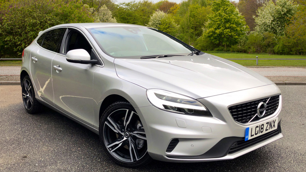 Volvo V40 D3 R-Design Pro Nav Auto with Rear Parking Camera, Gearshift Paddles & Winter Pk 2.0 Diesel Automatic 5 door Hatchback (2018) image