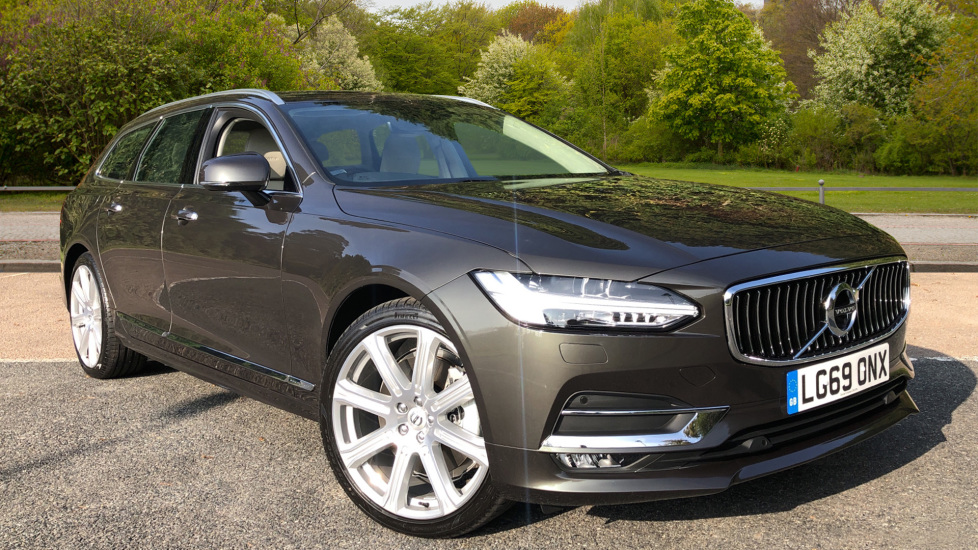 Volvo V90 2.0 T5 Inscription Pro Nav Auto with S/Phone, Winter Pk, Head Up DIsplay, Pilot Assist & 360Camera.  Automatic 5 door Estate (2019) image