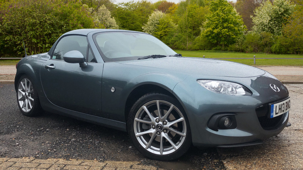Mazda MX-5 2.0i Sport Tech 2dr Manual with Elec Folding Hard Top, Nav, Heated Leather Seats & Cruise Ctrl. Coupe (2013) image