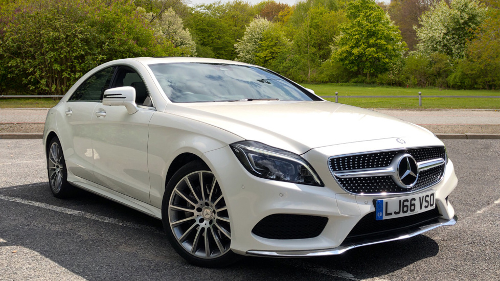 Mercedes-Benz CLS-Class CLS 350d AMG Line Premium Plus Auto with 360 Camera, Command Sat Nav. 3.0 Diesel Automatic 5 door Saloon (2016) image