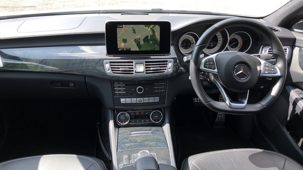 Mercedes-Benz CLS-Class CLS 350d AMG Line Premium Plus Auto with 360 Camera, Command Sat Nav. image 5