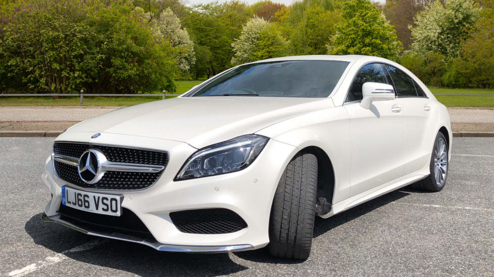 Mercedes-Benz CLS-Class CLS 350d AMG Line Premium Plus Auto with 360 Camera, Command Sat Nav. image 4