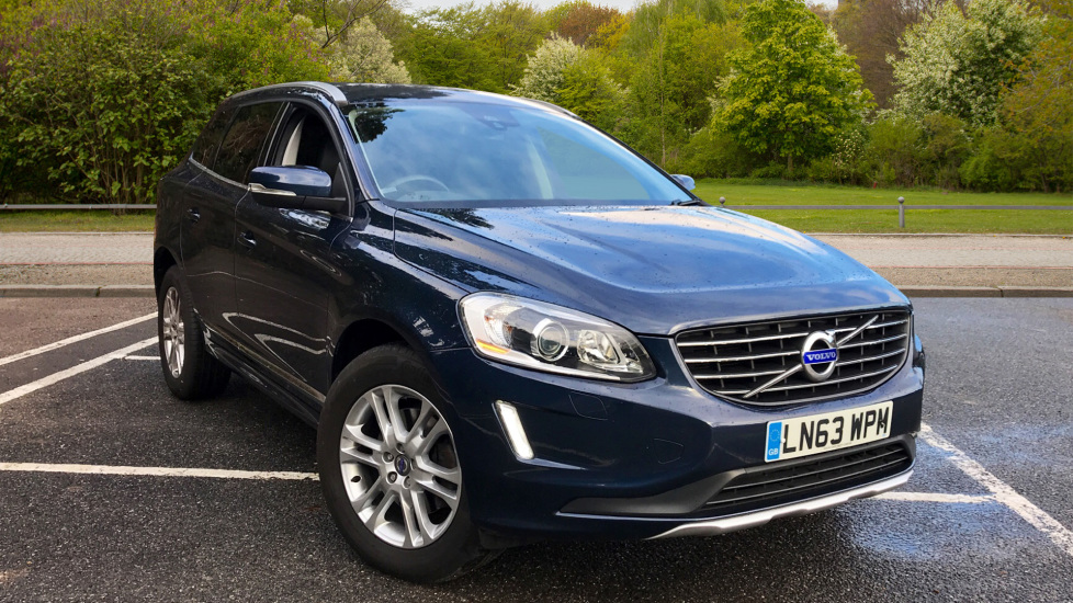Volvo XC60 D5 SE Lux Nav AWD Auto W. Winter Pack, Family Pack, Sat Nav & Leather  2.4 Diesel Automatic 5 door Estate (2013) image