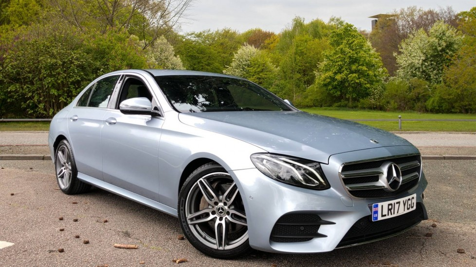 Mercedes-Benz E-Class Saloon E220d AMG Line 9G-Tronic, Nav, F & R Sensors, Ambient Lighting, Paddle Shiters, Bluetooth 2.0 Diesel Automatic 4 door Saloon (2017) image