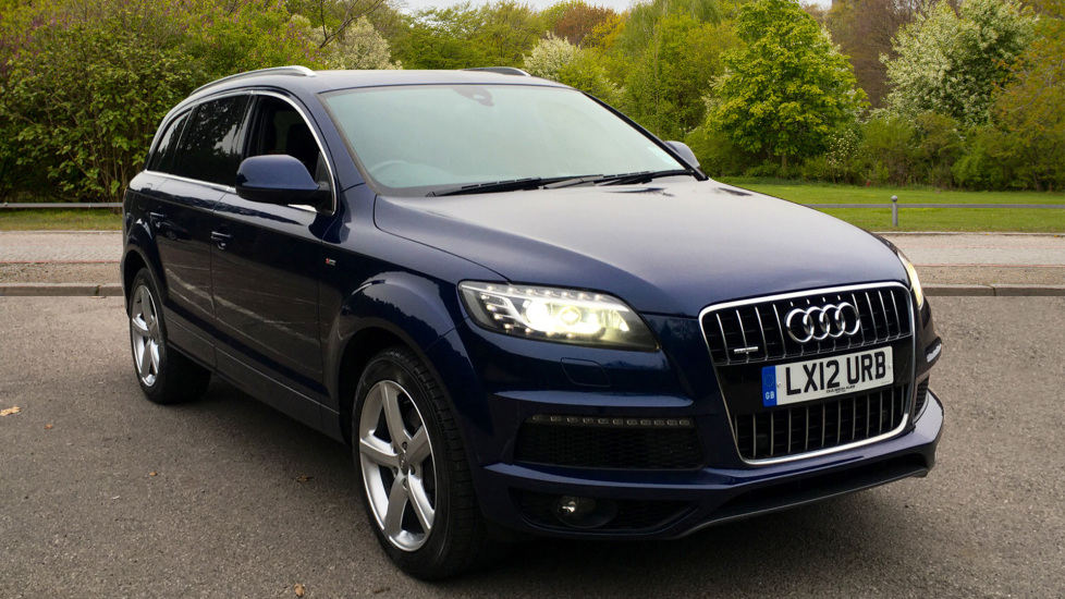 Audi Q7 3.0 TDI Quattro S Line Tip With. Panoramic Glass Sunroof, Adaptive Cruise & Air Suspension  Diesel Automatic 5 door Estate (2012)