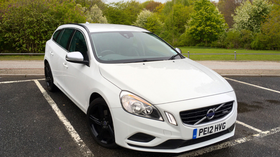 Volvo V60 Drive E R Design W. High Performance Sounds, Cruise Control & Leather Steering Wheel 1.6 Diesel 5 door Estate (2012) at Volvo Croydon thumbnail image