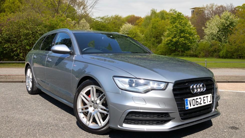 Audi A6 TDI S Line 5dr Multitronic Auto, Tech Pk, Powered Boot, Memory Ft Seats, Auto Park, 360 Cam 2.0 Diesel Automatic Estate (2012)