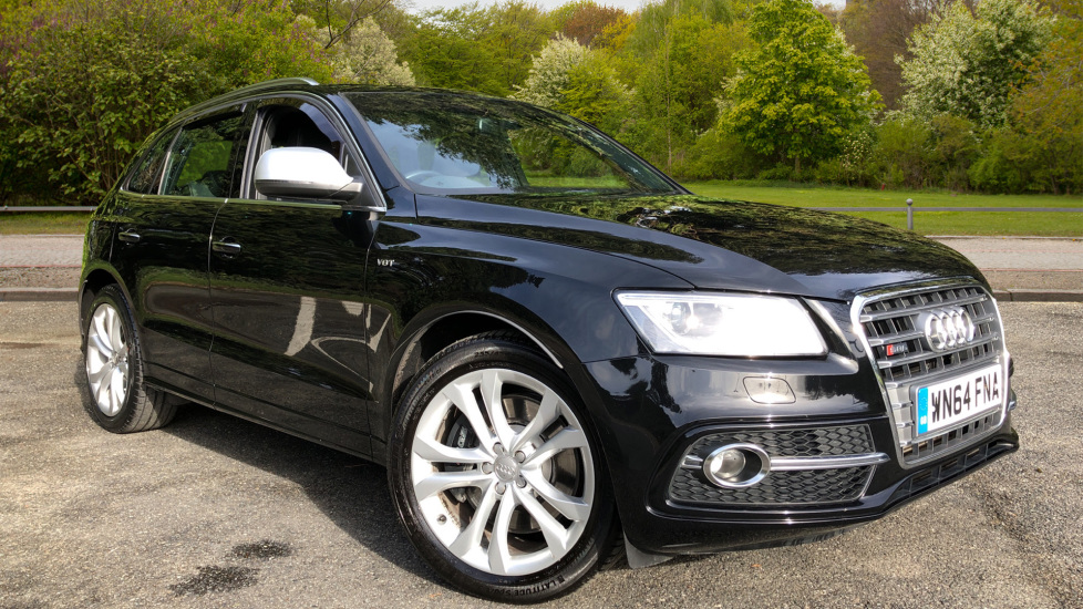 Audi Q5 SQ5 Quattro Auto, with Audi Music Interface, F.Heated Seats, Paddles Shifters, R.Park Sensors 3.0 Diesel Automatic 5 door 4x4 (2014)