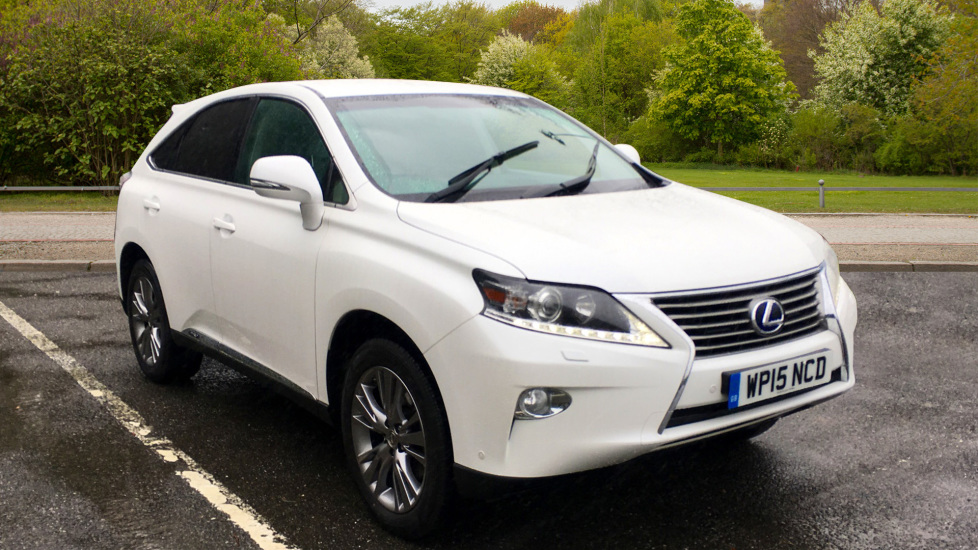 Lexus RX 450h 3.5 Hybrid Luxury Auto with Parking Sensors, Sat Nav, Rear Camera & Heated Front Seats Petrol/Electric Automatic 5 door Estate (2015) available from Warrington Motors Fiat and Peugeot thumbnail image