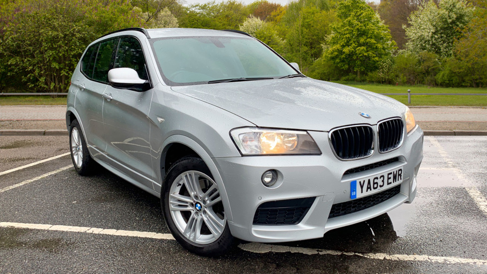 BMW X3 xDrive2 0d M Sport Auto with BMW Sat Nav, DAB Radio, Front & Rear  Park Assist Diesel Automatic 5 door Estate (2013) available from Grange