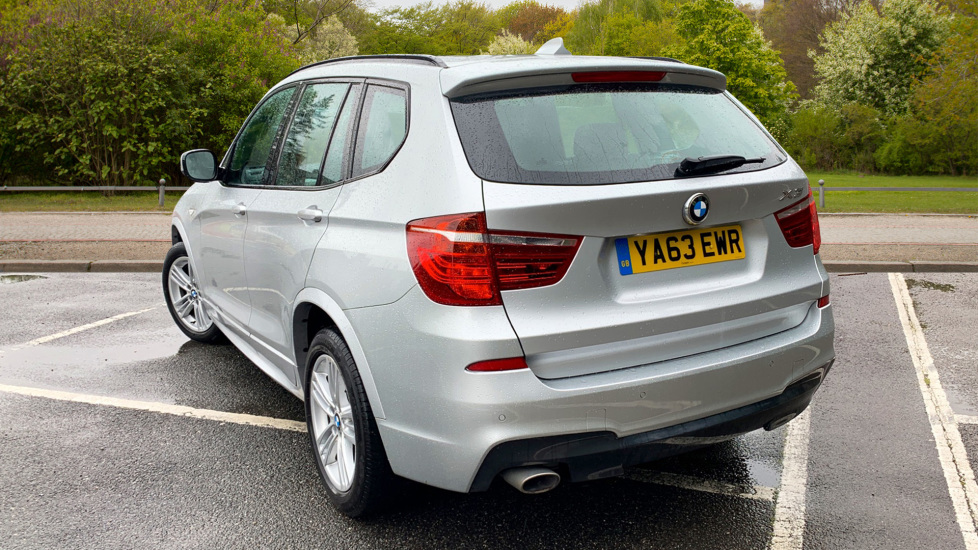 BMW X3 xDrive2.0d M Sport Auto with BMW Sat Nav, DAB Radio, Front & Rear Park Assist  image 2