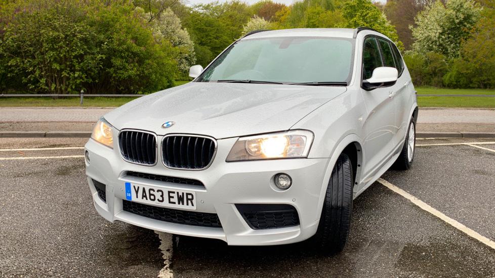 BMW X3 xDrive2.0d M Sport Auto with BMW Sat Nav, DAB Radio, Front & Rear Park Assist  image 9