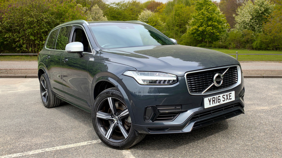 Volvo XC90 2.0 T8 Hybrid R Design Auto W. Sensus Navigation, Rear Park Assist & Cruise Control Petrol/Electric Automatic 5 door Estate (2016) image