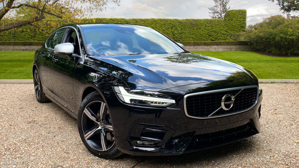 Volvo S90 2.0 D4 R Design Auto With. Winter Pack, Sensus Nav, Front & Rear Park Assist Diesel Automatic 5 door Saloon (2019)