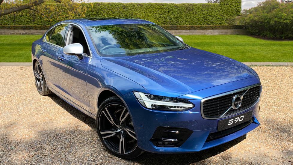 Volvo S90 2.0 T4 R Design Pro Auto with Xenium Pack, Seat Pack, 360 Camera & Pilot Assist Automatic 4 door Saloon (2019) image