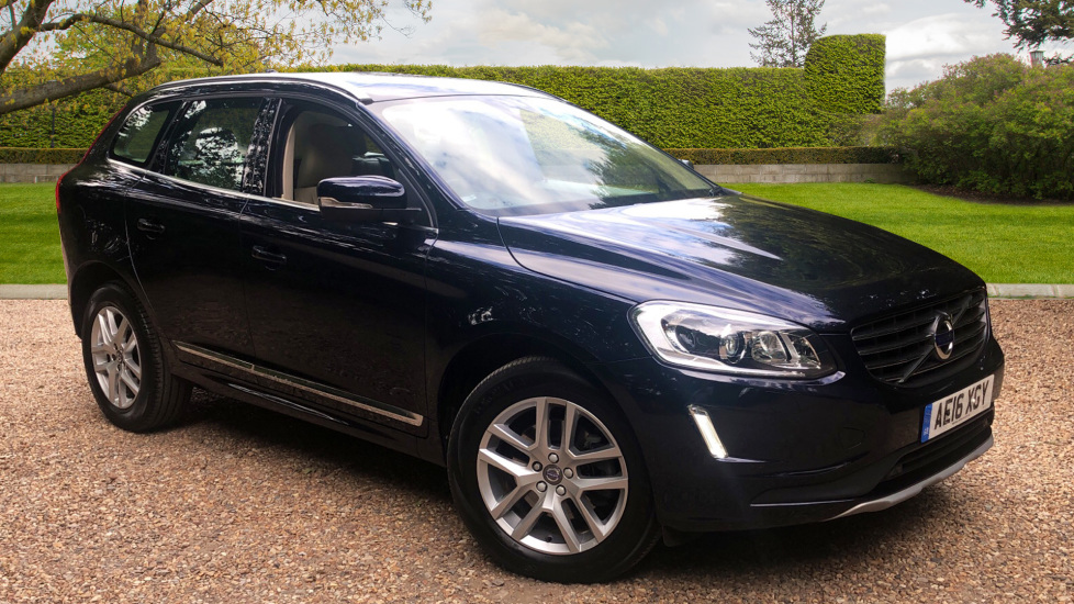 Volvo XC60 D5 SE Lux Nav AWD Auto, Winter Pack, Rear Camera, Front & Rear Park Assist  2.4 Diesel Automatic 5 door Estate (2016)