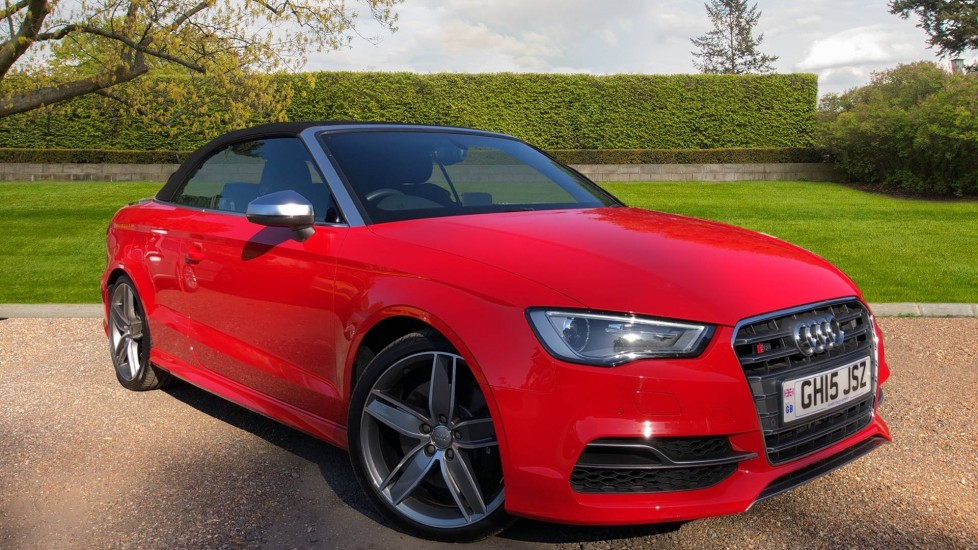 Audi A3 S3 TFSI Quattro 2dr S Tronic Auto, 295BHP, Cabriolet, DAB Radio, 19 Inch Alloys, Heated Seats 2.0 Automatic (2015)