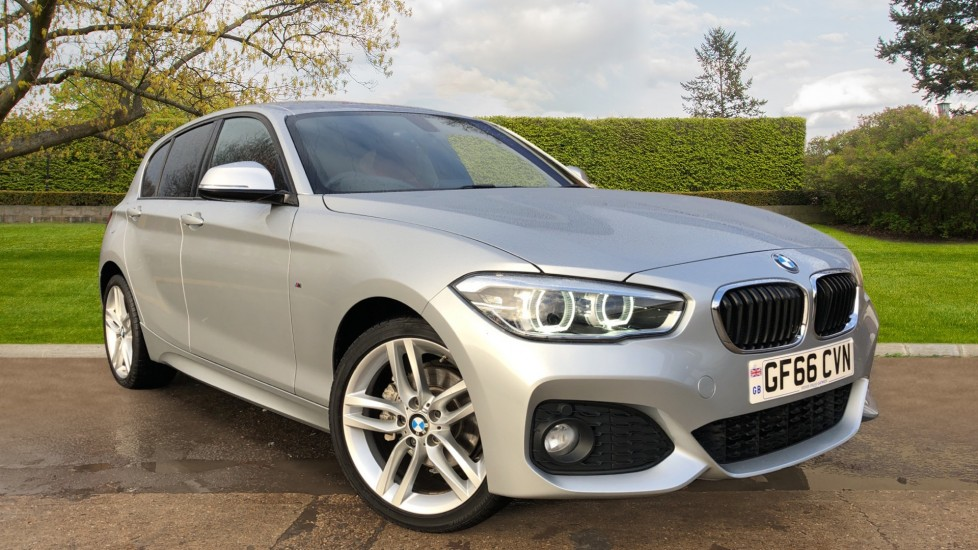 BMW 1 Series 120i M Sport 5dr Auto, Nav, Keyless Drive, DAB Radio, Extended Lighting Package, Heated Seats 1.6 Automatic Hatchback (2016) available from Maidstone Suzuki, Honda and Mazda thumbnail image