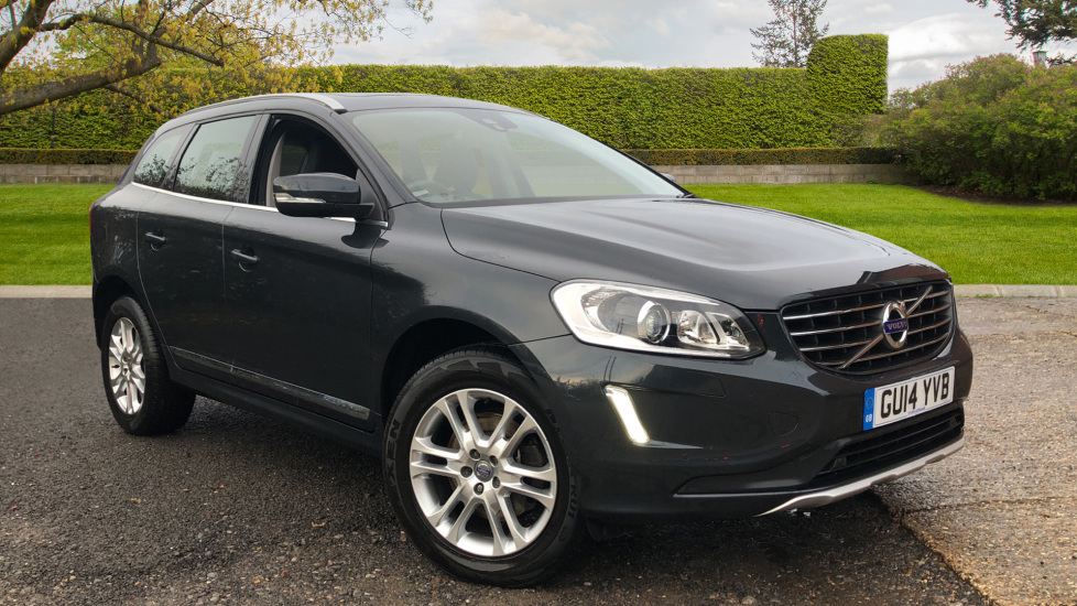 Volvo XC60 D5 SE Lux Nav 5dr AWD AT, Winter & Security Pks, Bending Lights, PanoRoof, F & R Sensors 2.4 Diesel Automatic 4x4 (2014)