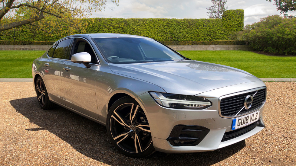 Volvo S90 D4 R-Design Pro Nav Auto with 360 Camera, Intellisafe Surround, Leather, & Elec Seat Pack 2.0 Diesel Automatic 4 door Saloon (2018) image