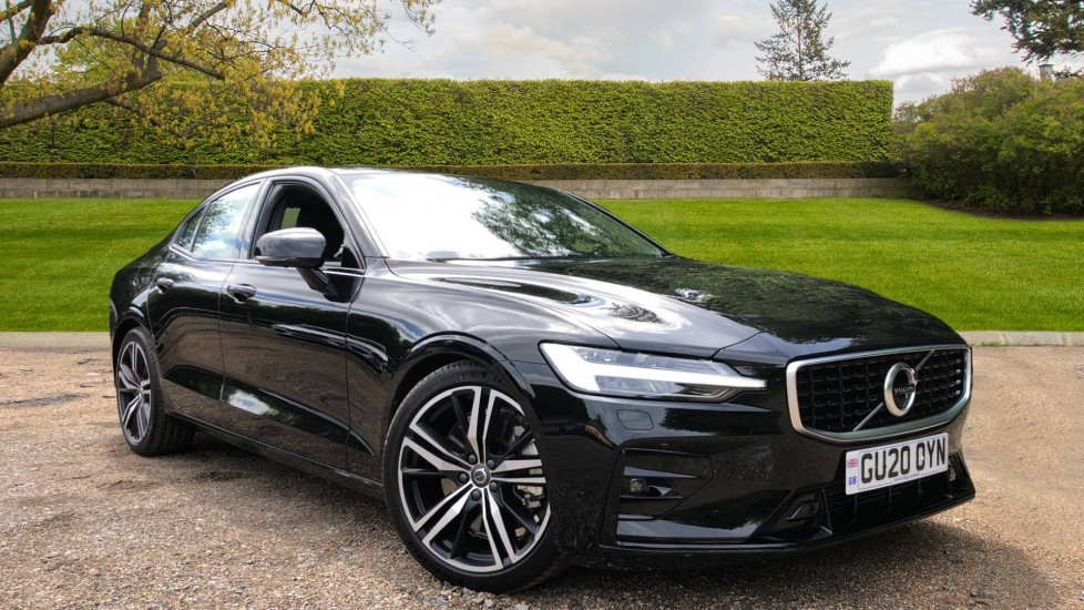 Volvo S60 T5 R Design Plus AT, Xenium, Winter & Convenience Pks, BLIS, 19in Alloys, Auto Dimming Mirrors 2.0 Automatic 4 door Saloon (2020) at Volvo Horsham thumbnail image