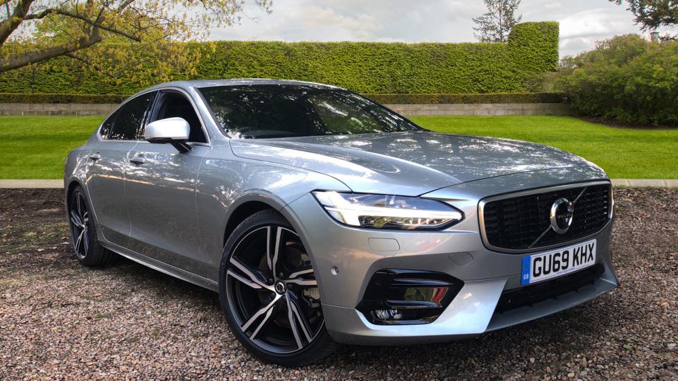 Volvo S90 2.0 T5 R Design Auto, Winter, Seat & Xenium Pks, S/Phone Int, BLIS & Keyless Drive. Automatic 4 door Saloon (2019)