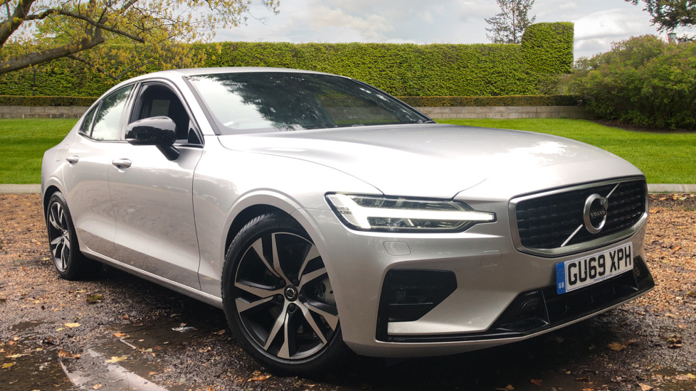 Volvo S60 2.0 T5 R Design Plus AT with Nav, F & R Sensors, WinterPk, Head Up Display & Tempa Spare Automatic 4 door Saloon (2020)