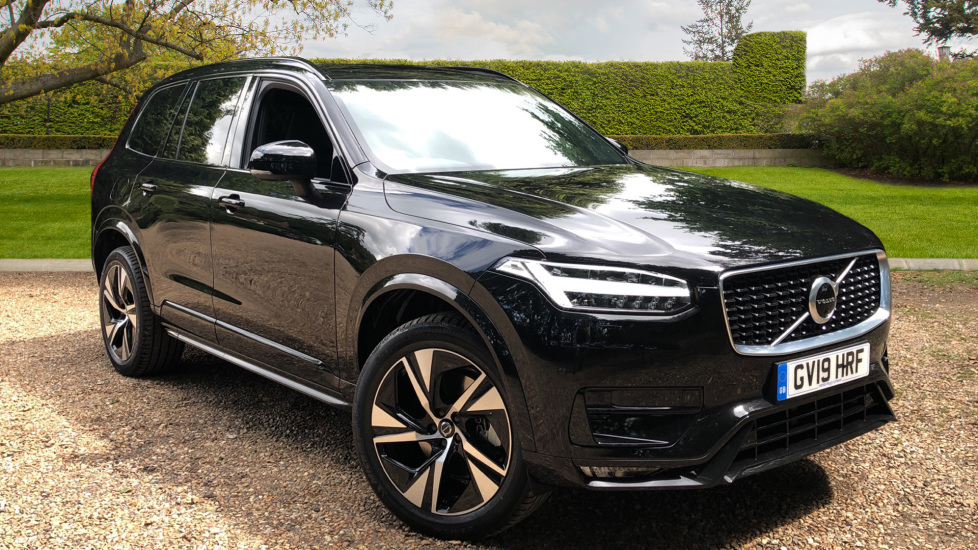 Volvo XC90 2.0 B5 Mild Hybrid R Design Nav Auto AWD with Intellisafe Surround, Winter Pk, 7 Seat Pk & 360Cam. Diesel Automatic 5 door 4x4 (2020) image