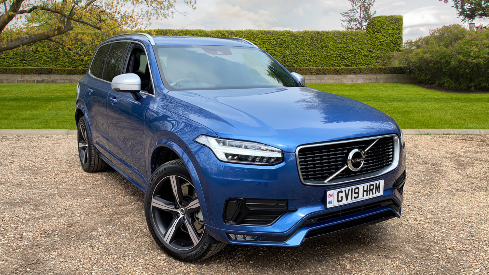Volvo XC90 2.0 D5 PowerPulse R Design AWD Auto W. Winter Pack, Family Pack & Smartphone Diesel Automatic 5 door Estate (2019) at Volvo Gatwick thumbnail image