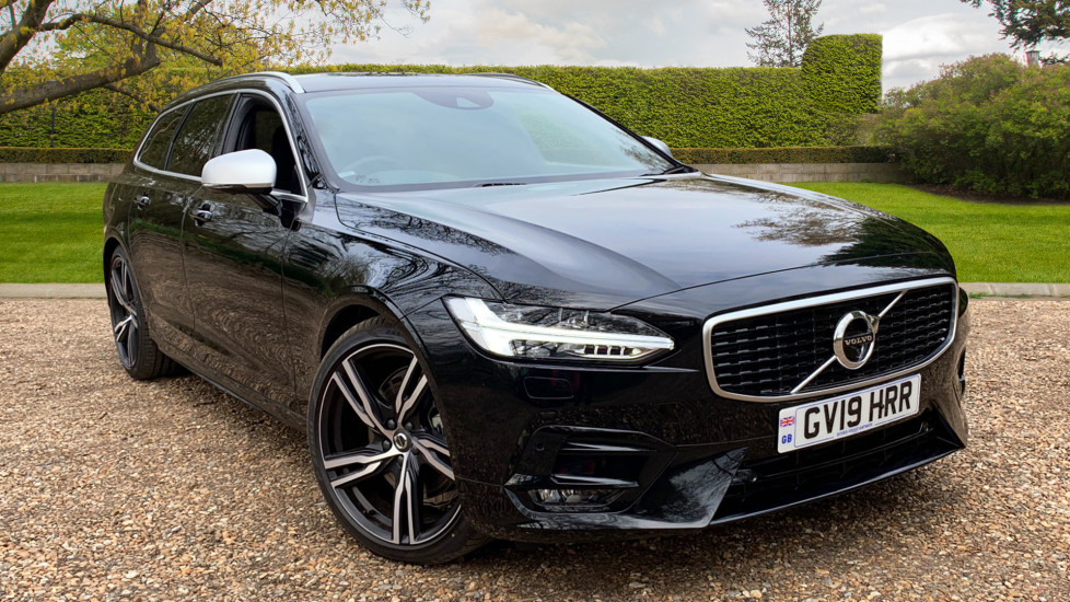 Volvo V90 2.0 T4 R Design Pro Auto W. Smartphone Integration, 360 Surround Camera & BLIS Automatic 5 door Estate (2019)