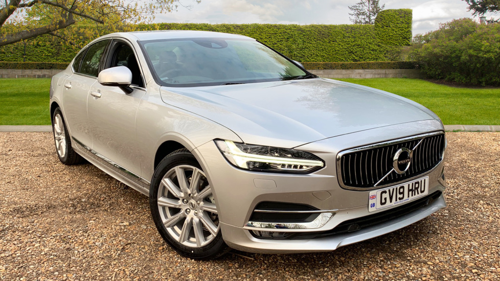 Volvo S90 2.0 D4 Inscription Auto W. Winter Pack, Sensus Nav, Front & Rear Park Assist Diesel Automatic 4 door Saloon (2019) image