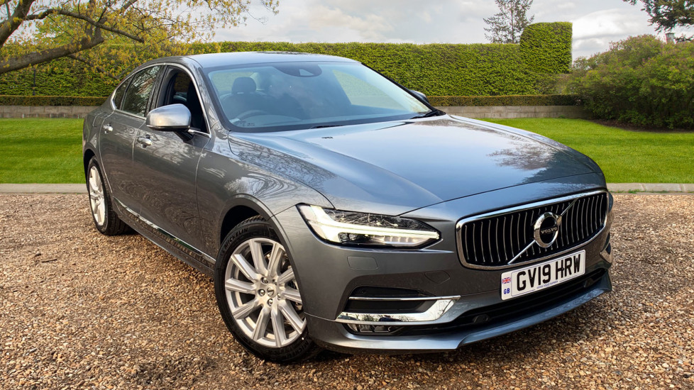 Volvo S90 2.0 D4 Inscription Auto W. Winter Pack, Sensus Nav, Front & Rear Park Assist Diesel Automatic 5 door Saloon (2019) image