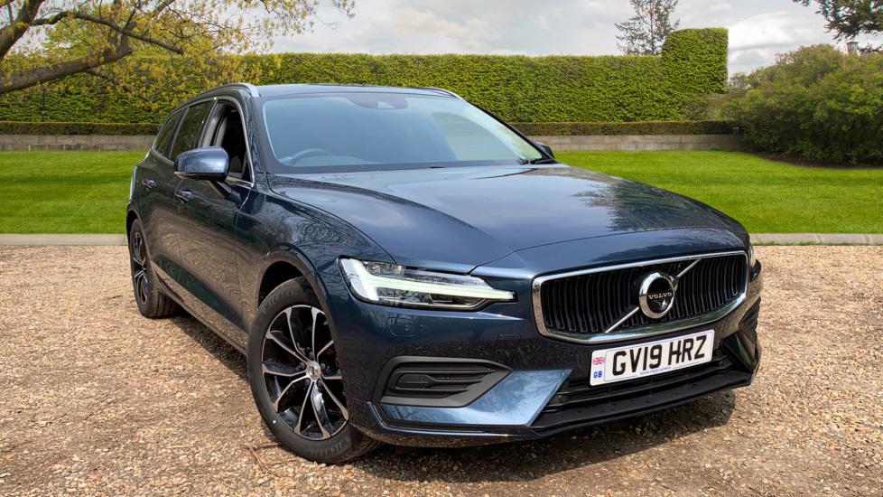 Volvo V60 2.0 D4 Momentum Auto W. Winter Pack, Convenience Pack & Dark Tinted Windows Diesel Automatic 5 door Estate (2019) image