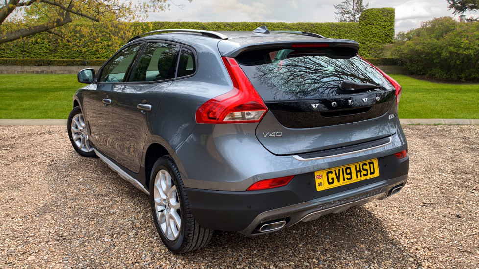 Volvo V40 D3 Cross Country Auto W  DAB Radio, Cross Country Body Kit & City  Safety 2 0 Diesel Automatic 5 door Hatchback (2019) available from Volvo