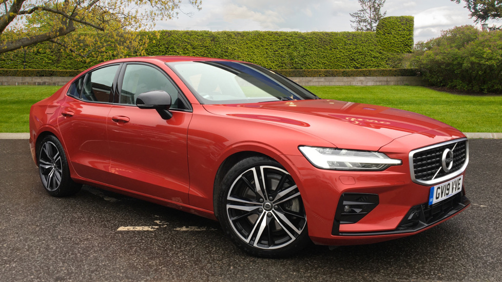 Volvo S60 2.0 T5 R Design Edition Auto With. Launch Pack, Rear Camera & Smartphone Integration Automatic 4 door Saloon (2019)